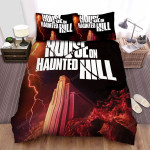 House On Haunted Hill Movie Poster V Photo Bed Sheets Spread Comforter Duvet Cover Bedding Sets
