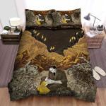 Frankenstein Father And Daughter Bed Sheets Spread Comforter Duvet Cover Bedding Sets