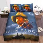 Open Range (2003) Movie Horse Photo Bed Sheets Spread Comforter Duvet Cover Bedding Sets