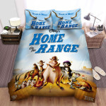 Home On The Range (2004) Bust A Moo Movie Poster Bed Sheets Spread Comforter Duvet Cover Bedding Sets