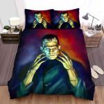 Frankenstein Oil Paint Bed Sheets Spread Comforter Duvet Cover Bedding Sets
