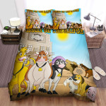 Home On The Range (2004) In Front Of Saloon Movie Poster Bed Sheets Spread Comforter Duvet Cover Bedding Sets