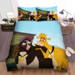 Home On The Range (2004) Chating Movie Poster Bed Sheets Spread Comforter Duvet Cover Bedding Sets