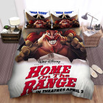 Home On The Range (2004) Beef Thief Movie Poster Bed Sheets Spread Comforter Duvet Cover Bedding Sets