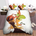 Wander Over Yonder Hugging Hater Bed Sheets Spread Duvet Cover Bedding Sets