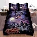 An American Werewolf In London House Bed Sheets Spread Comforter Duvet Cover Bedding Sets