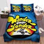 Wander Over Yonder The Logo Bed Sheets Spread Duvet Cover Bedding Sets