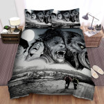 An American Werewolf In London Wolfman Art Bed Sheets Spread Comforter Duvet Cover Bedding Sets