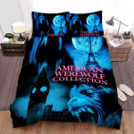 An American Werewolf In London Blue Moon Bed Sheets Spread Comforter Duvet Cover Bedding Sets