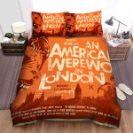 An American Werewolf In London Beware The Moon Bed Sheets Spread Comforter Duvet Cover Bedding Sets