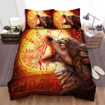 An American Werewolf In London Blood Clock Bed Sheets Spread Comforter Duvet Cover Bedding Sets