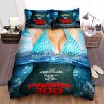 Piranha 3d Poster 3 Bed Sheets Spread Comforter Duvet Cover Bedding Sets
