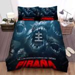Piranha 3d Poster 6 Bed Sheets Spread Comforter Duvet Cover Bedding Sets