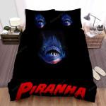 Piranha 3d Darkness Bed Sheets Spread Comforter Duvet Cover Bedding Sets