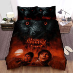 An American Werewolf In London Blood Bed Sheets Spread Comforter Duvet Cover Bedding Sets