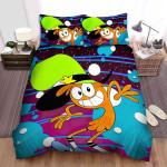 Wander Over Yonder Smiling Wander Bed Sheets Spread Duvet Cover Bedding Sets
