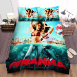 Piranha 3d Pool Party Bed Sheets Spread Comforter Duvet Cover Bedding Sets