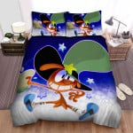 Wander Over Yonder Wander Eating Hamburger Bed Sheets Spread Duvet Cover Bedding Sets