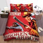 Broken Arrow Movie Poster 2 Bed Sheets Spread Comforter Duvet Cover Bedding Sets