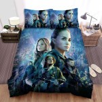 Annihilation Movie Cartoon Photo Bed Sheets Spread Comforter Duvet Cover Bedding Sets