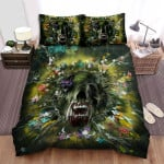 Annihilation Movie Green Photo Bed Sheets Spread Comforter Duvet Cover Bedding Sets