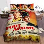 Fort Apache Movie Poster Bed Sheets Spread Comforter Duvet Cover Bedding Sets Ver 4