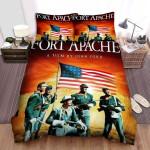 Fort Apache Movie Poster Bed Sheets Spread Comforter Duvet Cover Bedding Sets Ver 1