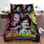 What We Do In The Shadows Scared Bed Sheets Spread Comforter Duvet Cover Bedding Sets