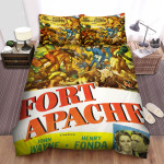 Fort Apache Movie Poster Bed Sheets Spread Comforter Duvet Cover Bedding Sets Ver 5