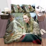 The Missing (I) (2003) The Man With The Horse And The Girl Movie Scene Bed Sheets Spread Comforter Duvet Cover Bedding Sets