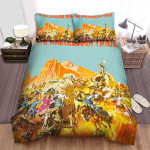 The Hallelujah Trail Movie Poster 4 Bed Sheets Spread Comforter Duvet Cover Bedding Sets