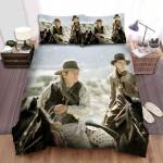 The Missing (I) (2003) The Men And The Girl On Horseback In Movie Scene Bed Sheets Spread Comforter Duvet Cover Bedding Sets