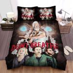 Don't Breathe Movie Art Bed Sheets Spread Comforter Duvet Cover Bedding Sets Ver 8