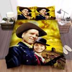The Hallelujah Trail Golden Sky Background Bed Sheets Spread Comforter Duvet Cover Bedding Sets