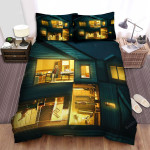 Hereditary Drawing House Bed Sheets Spread Comforter Duvet Cover Bedding Sets