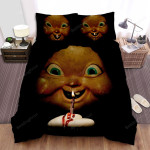 Happy Death Day Face Art Bed Sheets Spread Comforter Duvet Cover Bedding Sets