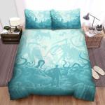 The Mist Monster 2 Bed Sheets Spread Comforter Duvet Cover Bedding Sets