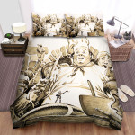 The Brothers Grimm (2005) Chef Movie Poster Bed Sheets Spread Comforter Duvet Cover Bedding