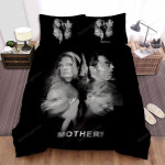 Mother! Black And White Bed Sheets Spread Comforter Duvet Cover Bedding Sets