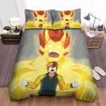Inazuma Eleven Endou's Power Bed Sheets Spread Duvet Cover Bedding Sets