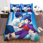 Inazuma Eleven Hiura And Mizukamiya Bed Sheets Spread Duvet Cover Bedding Sets