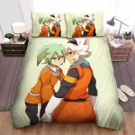 Inazuma Eleven Stand Together Bed Sheets Spread Duvet Cover Bedding Sets