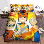 Inazuma Eleven Group Photo Bed Sheets Spread Duvet Cover Bedding Sets