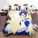 Inazuma Eleven Endou And Mizukamiya Bed Sheets Spread Duvet Cover Bedding Sets