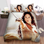The Legend Of Zorro (2005) Movie Long Hair Photo Bed Sheets Spread Comforter Duvet Cover Bedding Sets