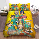 Inazuma Eleven Get Ready Bed Sheets Spread Duvet Cover Bedding Sets