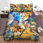 Inazuma Eleven Group Poster Bed Sheets Spread Duvet Cover Bedding Sets