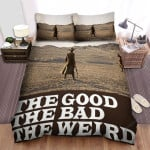 The Good The Bad The Weird Movie Desert Photo Bed Sheets Spread Comforter Duvet Cover Bedding Sets