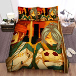 Inazuma Eleven Sleeping Bed Sheets Spread Duvet Cover Bedding Sets