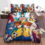 Inazuma Eleven Side By Side Bed Sheets Spread Duvet Cover Bedding Sets